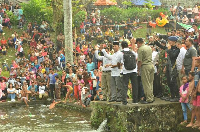 Itik Jadi Daya Tarik Baru Taman Narmada