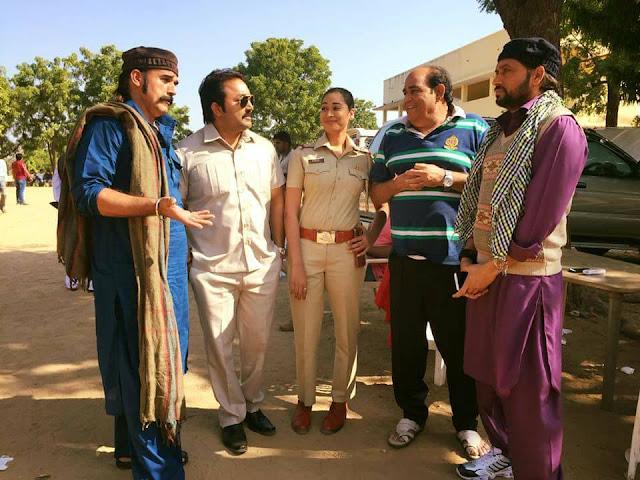 'आतंकवादी' की शूटिंग गुजरात के पालनपुर में की जा रही है।