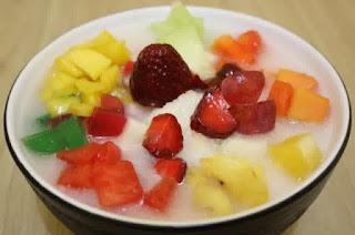 10  Hidangan Buka Puasa Yang Segar! No 3 Anti Mainstream-sop buah