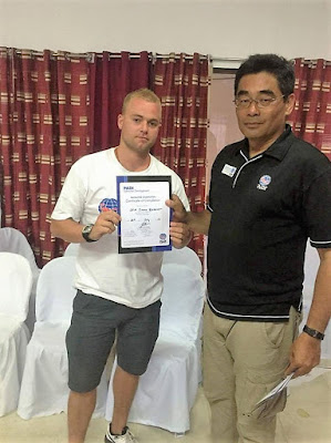 Testimonial by Jimmy of the July 2016 PADI IDC in Moalboal in the Philippines