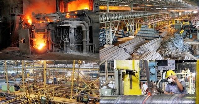 Loker di Bekasi SMK D3 QC PT Gunung Raja Paksi (Gunung Steel Group) Cibitung