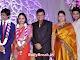 Sai Kumar with wife, son Aadi and the couple Jyothirmayi and Krishna