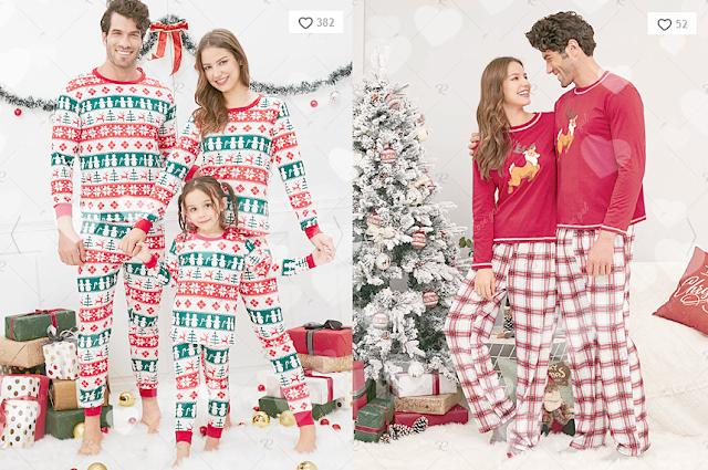 Christmas Pyjamas Rosegal