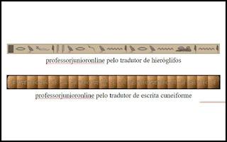 Escritas da Antiguidade Oriental www.professorjunioronline.com
