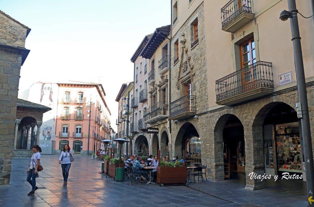Plaza de la Catedral de Jaca