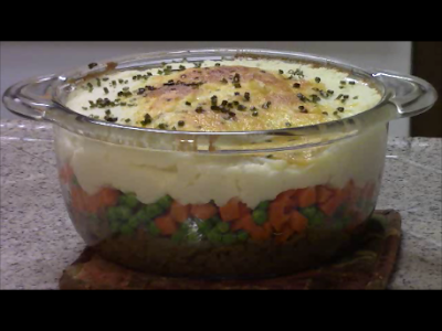 a golden brown potato topped shepherd's pie is one of the worlds greatest comfort foods.