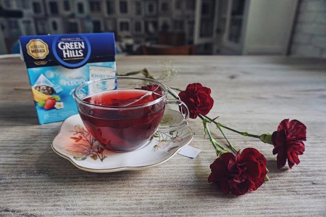 Herbata o smaku Melona i truskawki #GreenHills