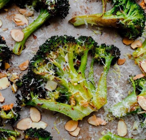 CRACK BROCCOLI (BEST ROASTED BROCCOLI RECIPE) #vegetarian #bestrecipe