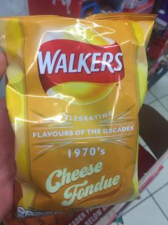 Walkers Crisps Cheese Fondue - 1970's