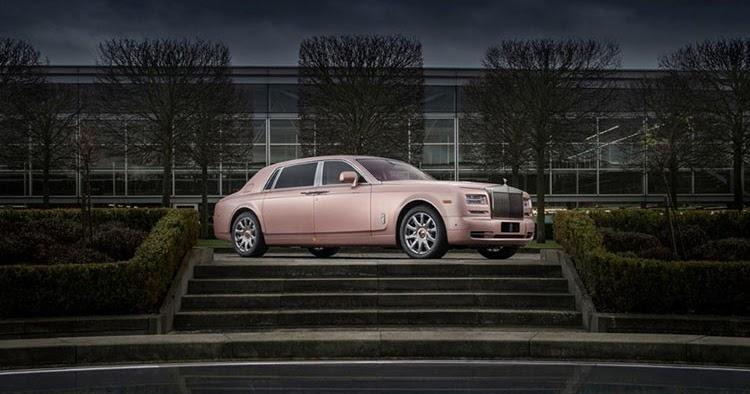 Rolls-Royce Reveals Special Sunrise Phantom; An Automotive Rose Gold iPhone