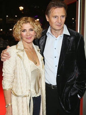 Liam John Neeson and Natasha Richardson