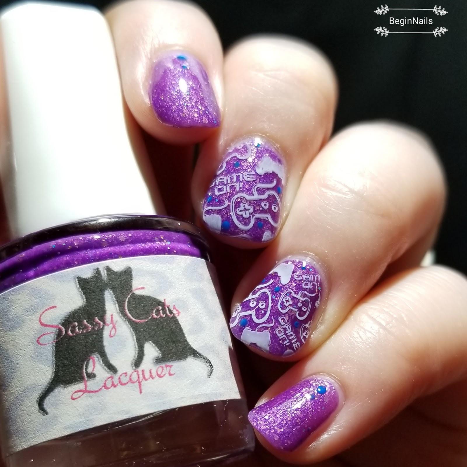 Lets Begin Nails June Polish Pick Up Sassy Cats Lacquer