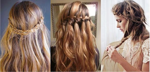 ślub, ślubna fryzura, boho