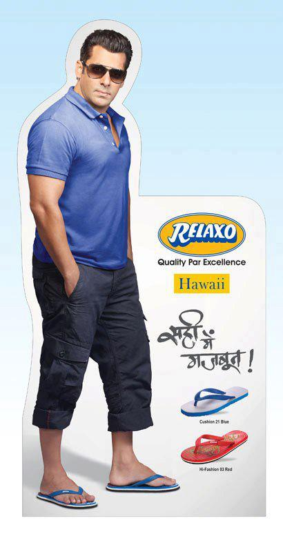 Pics - Salman Khan - Relaxo Hawaii Footwears