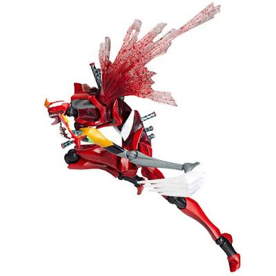 Revoltech EVANGELION EVOLUTION EVA-02 Beast Mode 2nd Form - Kaiyodo