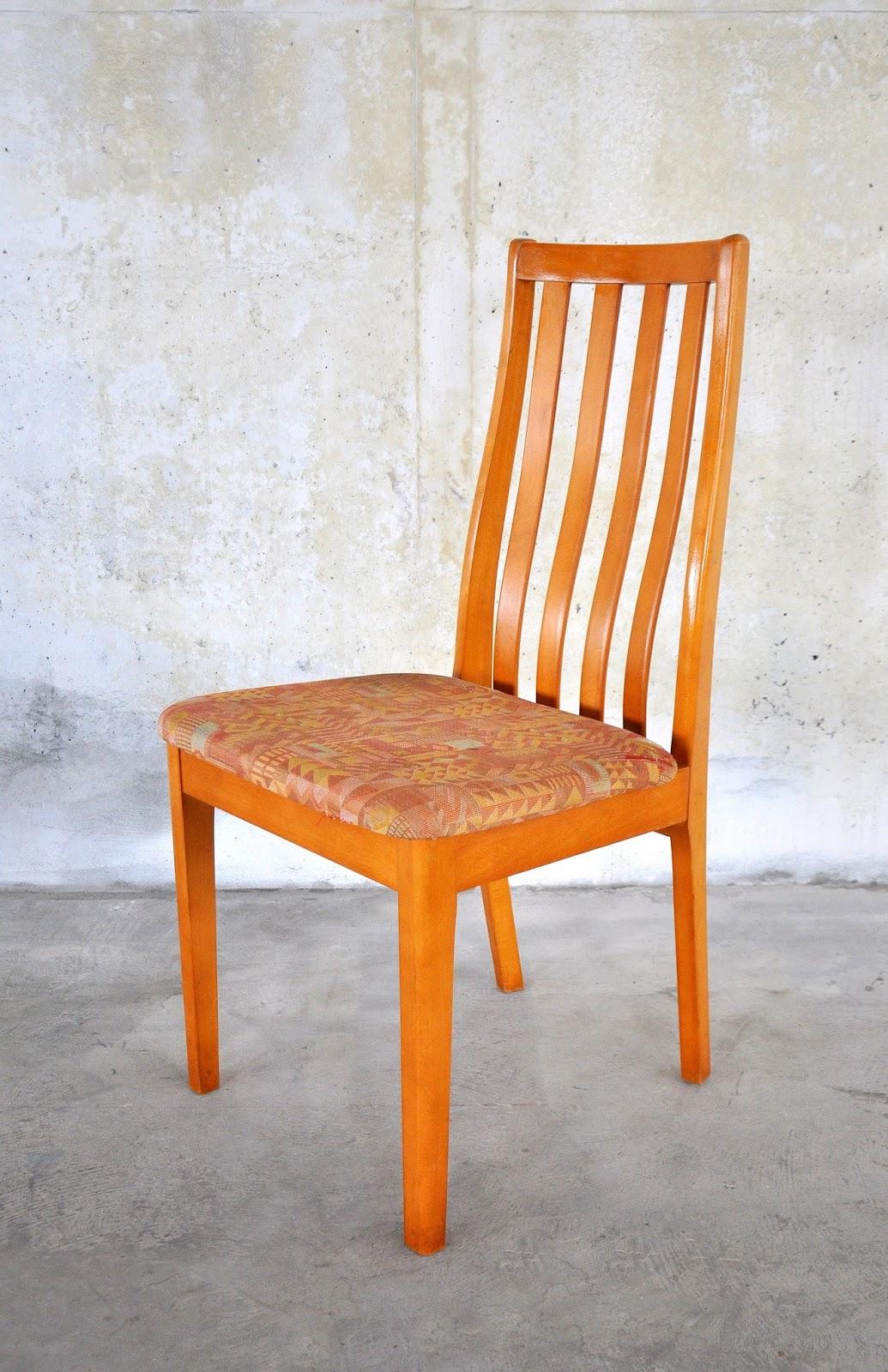 SELECT MODERN: Set of 6 Danish Modern Dining Chairs