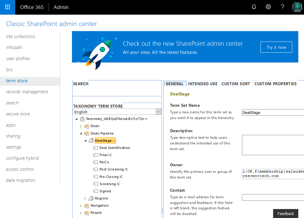 sharepoint online get all terms from a term set using powershell
