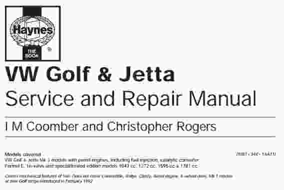 VW    Golf      Jetta Service Manual  Wiring    Diagram    Service