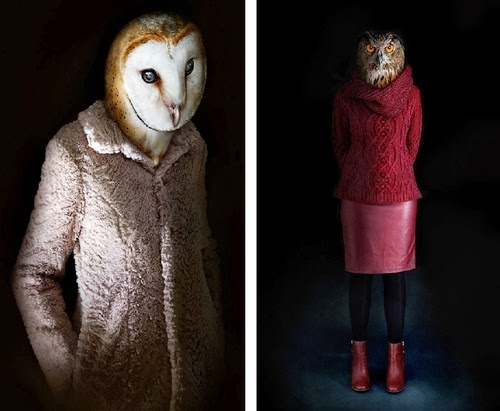 08-Owls-Barn-and-Horned-Miguel-Vallinas-Segundas-Pieles-Second-Skins-Smartly-Dressed-Animals-www-designstack-co