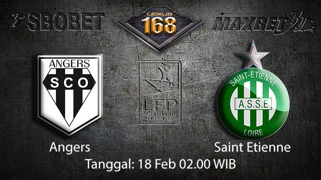 PREDIKSIBOLA - PREDIKSI TARUHAN BOLA ANGERS VS SAINT ETIENNE 18 FEBRUARI 2018 ( FRENCH LIGUE 1 )