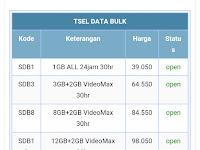 Produk terbaru paket data / kuota internet dari Telkomsel di jaringan 4G - Darra Reload