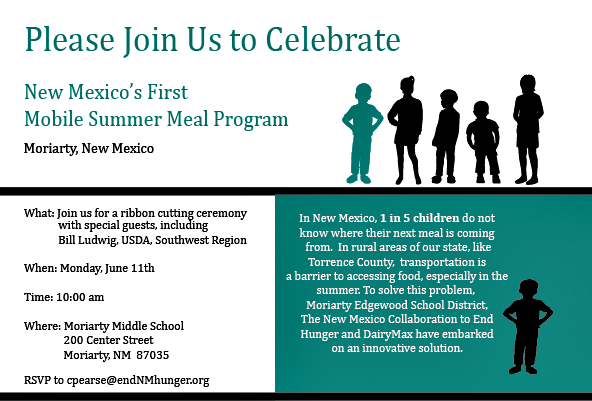 sle invitation letter to ribbon cutting ceremony bread new mexico mobile summer meals come to 260