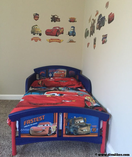 Disney Pixar Cars Toddler Bedroom