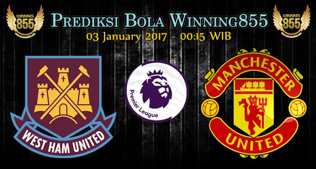 Prediksi Skor West Ham United vs Manchester United