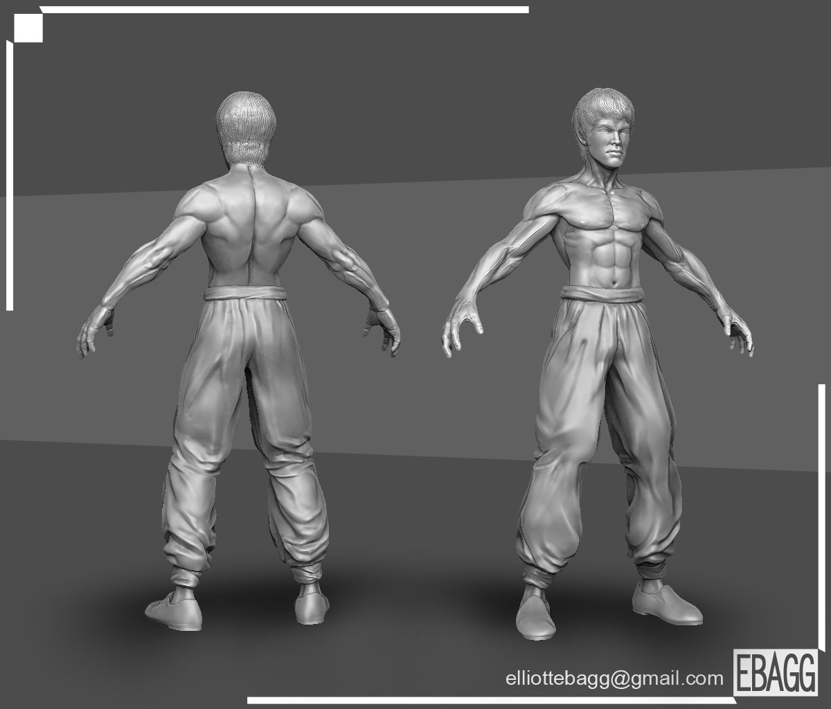 It's Law, I mean Fei Long, I mean Bruce Lee! — polycount