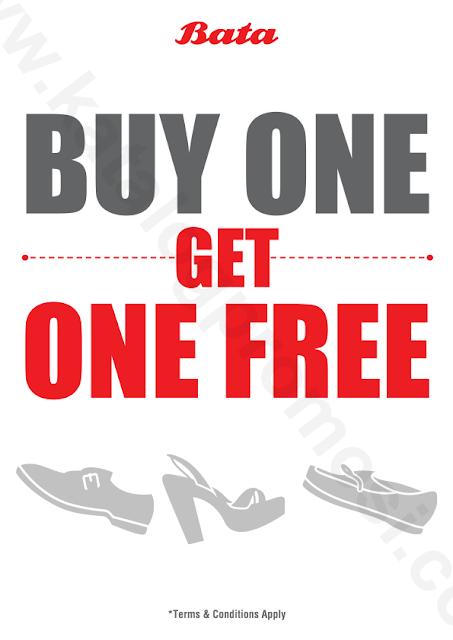 Promo bata buy 1 get 1 2017