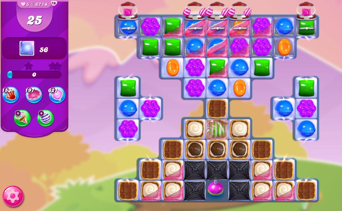 Candy Crush Saga level 6714