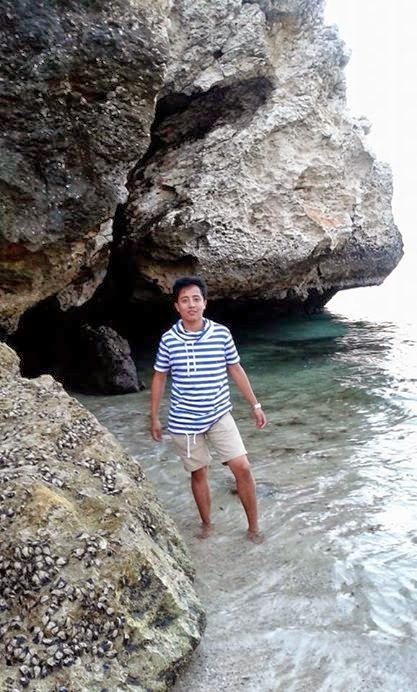 A little posing at Ras Al Hamra Beach, Muscat Picture: Nischal Gurung