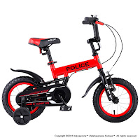 12 Element 911 Police BMX Kids Bike