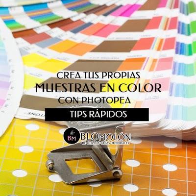 Crea Tus Propias Muestras En Color Con Photopea