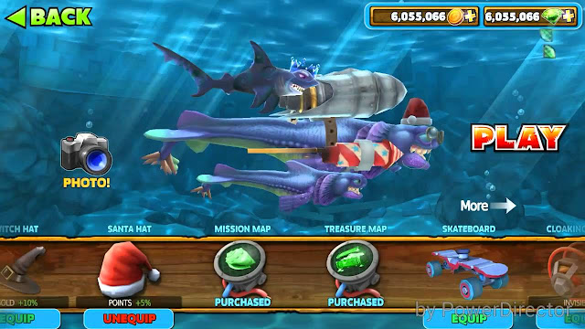 Download Game Hungry Shark Evolution Mod Money cho Android