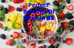 Perfect Benefits Of  Vitamin B5 Depression, Insomnia or Stomach Pain