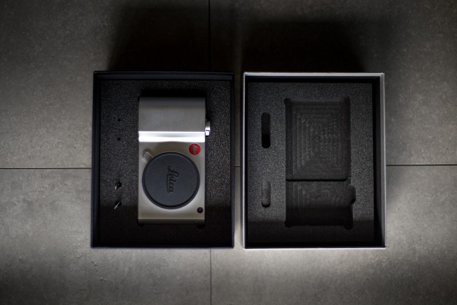 Leica TL2 в коробке