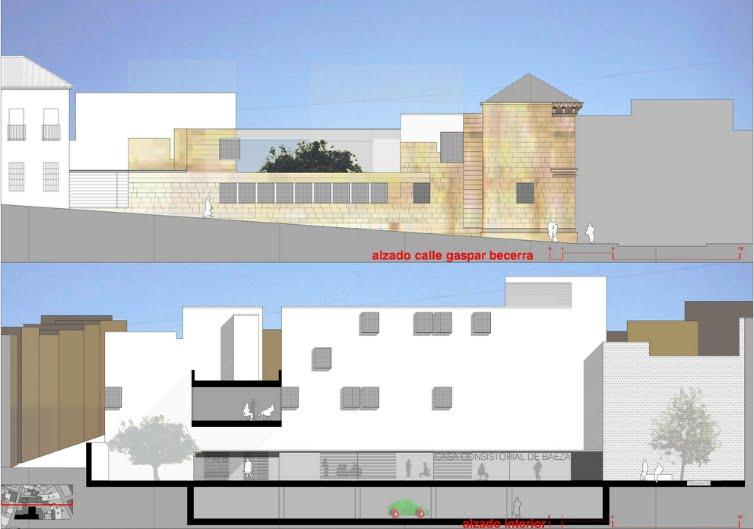 Ayuntamiento de baeza de viar arquitectos arquitectura y - Arquitectos en jaen ...