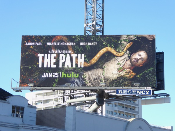 Path season 2 Hulu billboard