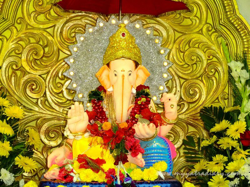 Eco friendly peaceful Mumbai's first Sarvajanik Ganeshotsav Mandal -  Keshavji Naik Chawl Ganpati in Girgaon, Mumbai.