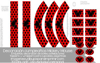 Mickey mouse decoración de cumpleaños