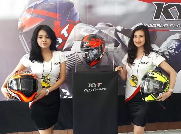 KYT perkenalan helm full face untuk balap