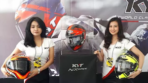 Spesifikasi dan Harga KYT NX Race, Helm Full Face Generasi Terbaru