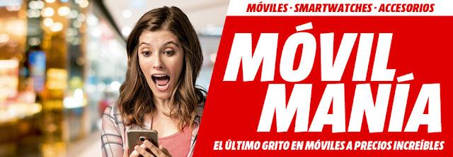 Mejores ofertas folleto Móvil Manía de Media Markt