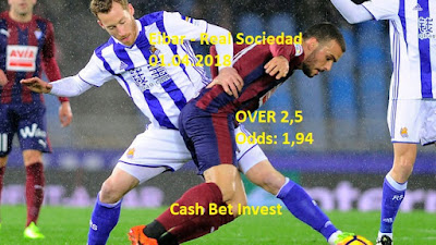 Eibar - Real Sociedad 01.04.2018 - Cash Bet Invest