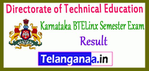 Karnataka BTELINX Diploma 1st 2nd 3rd 4th 5th 6th Semester Result