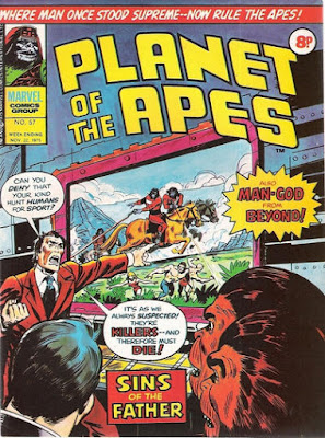 Marvel UK, Planet of the Apes #57
