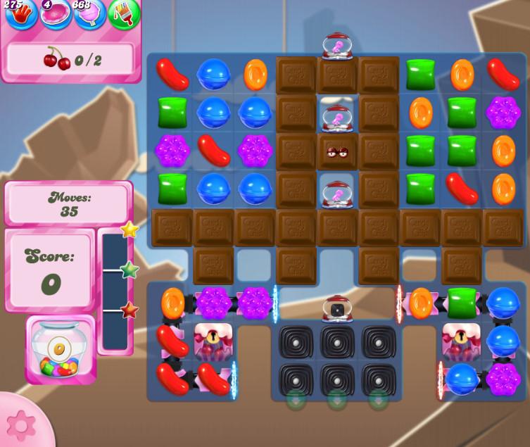 Candy Crush Saga level 2706