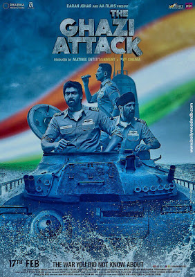 The Ghazi Attack 2017 Hindi pDVDrip 350mb