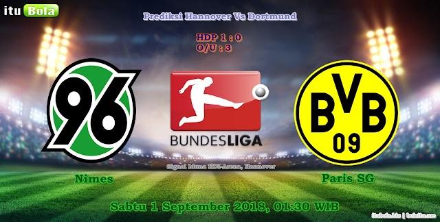 Prediksi Hannover Vs Dortmund - ituBola